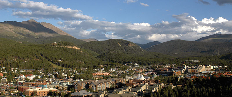 Town of Breckenridge Aerial View