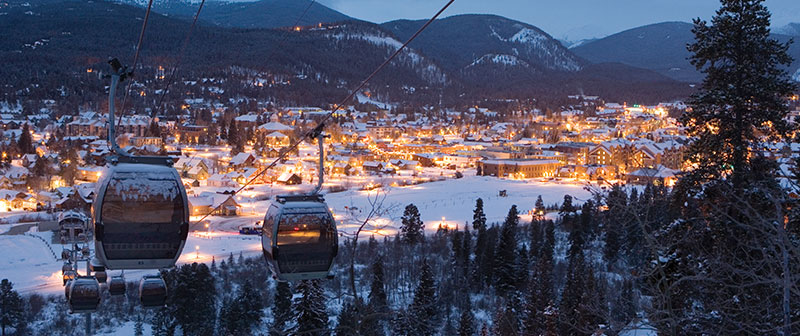 Breckenridge Gondola by night