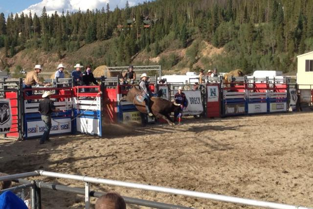 Rodeo in Breckenridge Colorado
