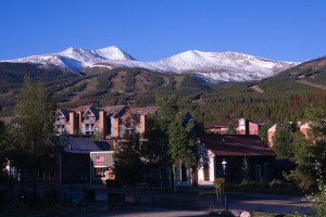 Town of Breckenridge and Mountains