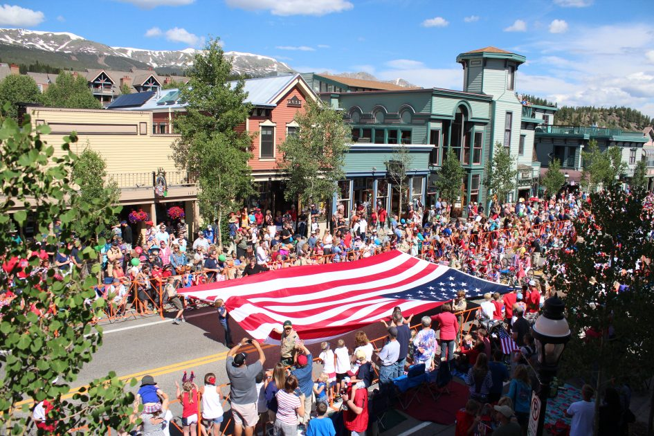 Fourth of July Parade in Breckenridge