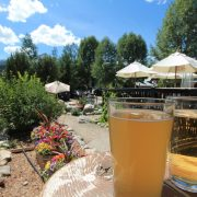 Summer drinks in Breck