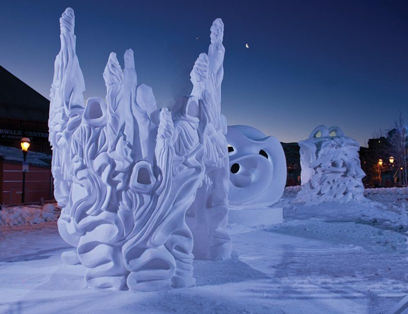 International Snow Sculpture Championships