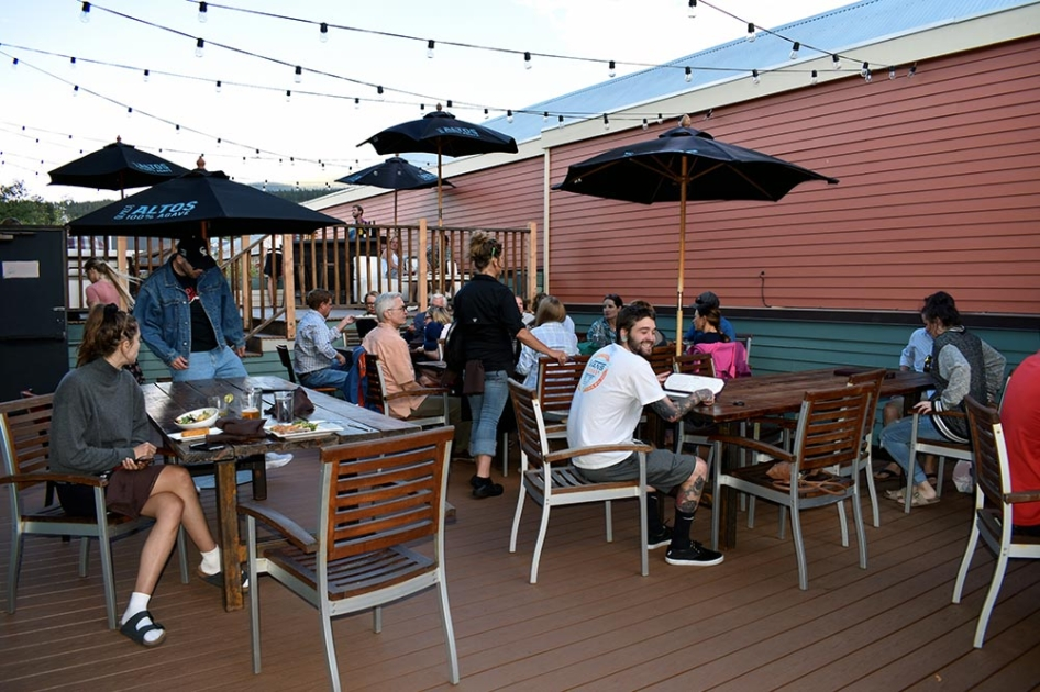 Rooftop Patio at Modis