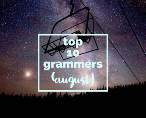 August's Top 10 Grammers