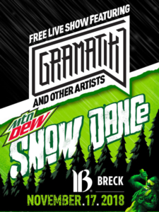 Mtn Dew Snow Dance @ South Gondola Lot