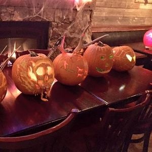 Annual Pumpkin Carving Contest @ Blue Stag Saloon