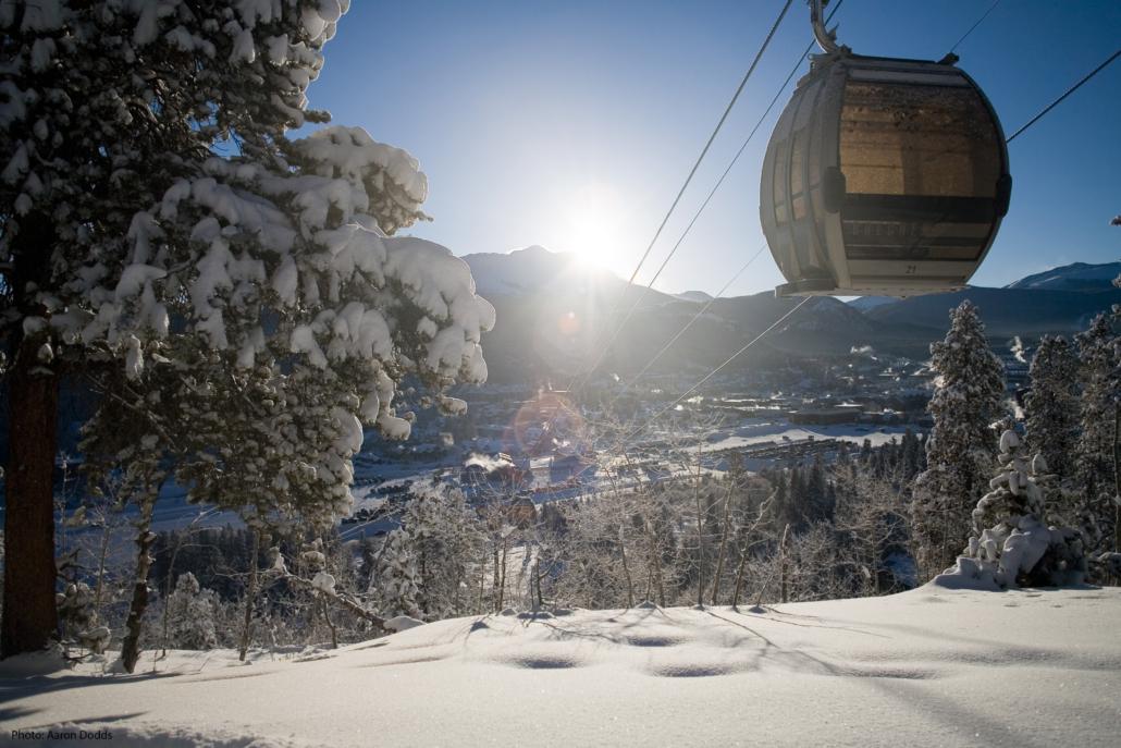 Breckenridge Opening Day Gondola