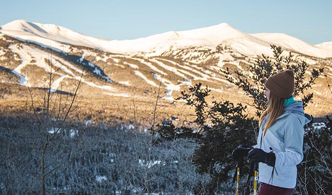 Snowshoeing in Breckenridge