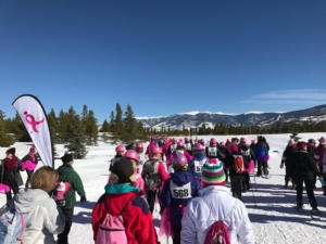 Snowshoe for the cure @ Frisco Nordic Center
