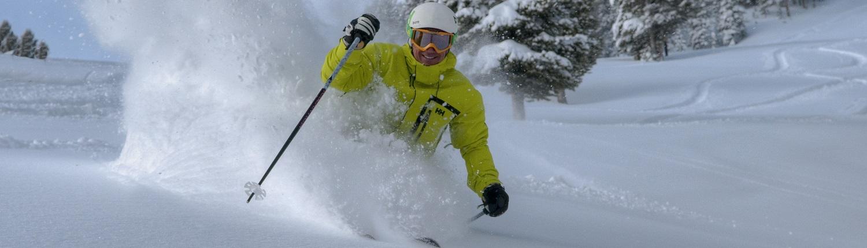 Glade Skiing at Breckenridge
