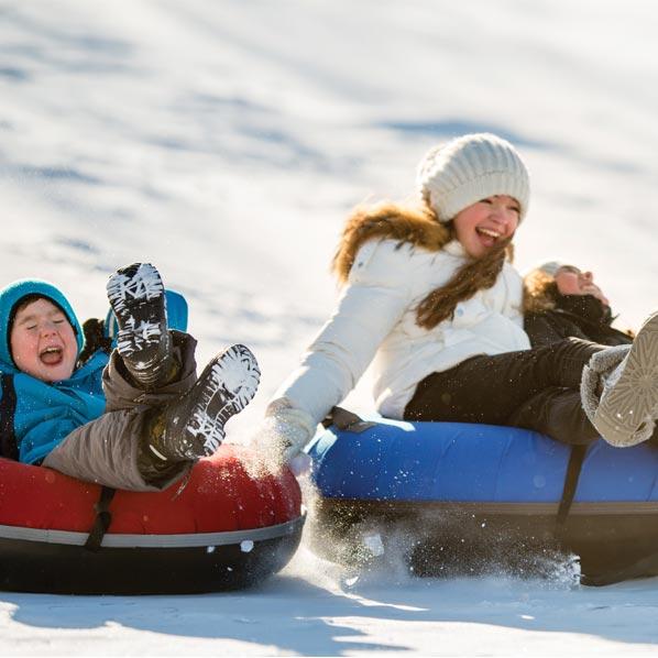 Carter Park sledding