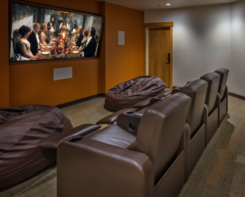 Grand Timber Lodge Movie Theater
