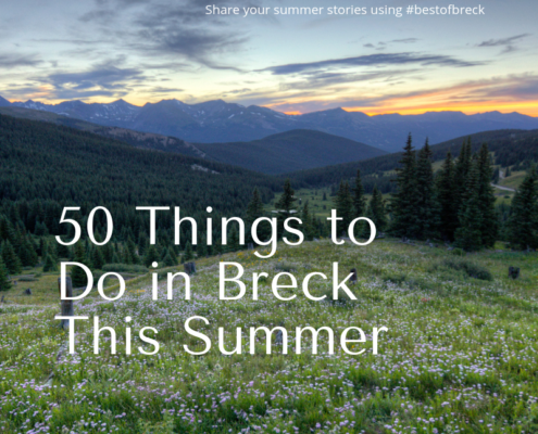 50 Things to do in Breckenridge This Summer