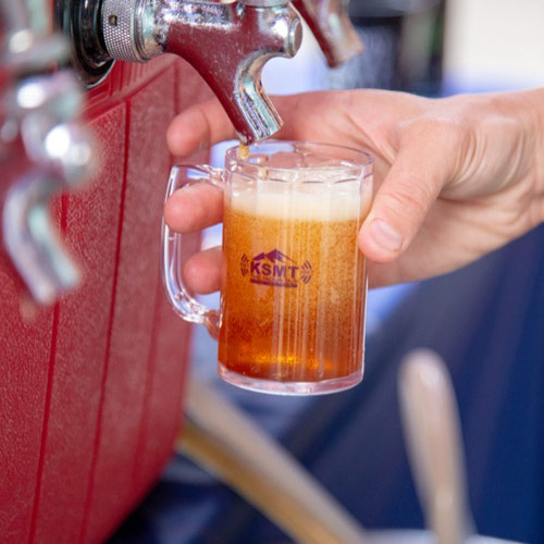 Small Beer being poured
