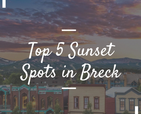 Top 5 Sunset Spots in Breck