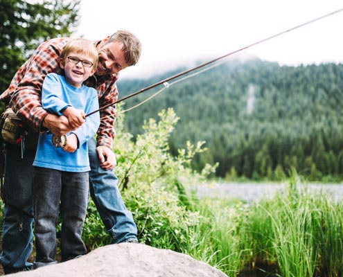 Breckenridge fishing
