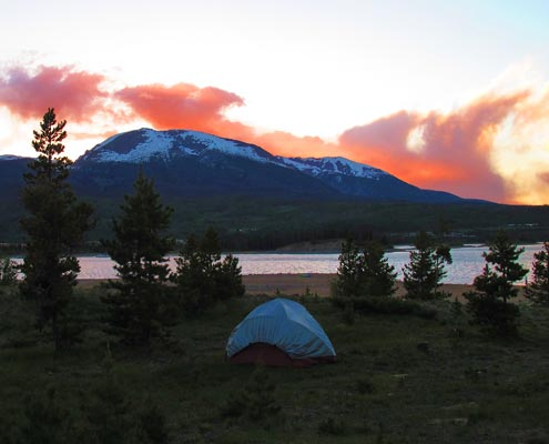Camping in Summit County