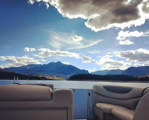 Boat tours at Lake Dillon