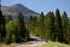 Family Biking in Breckenridge