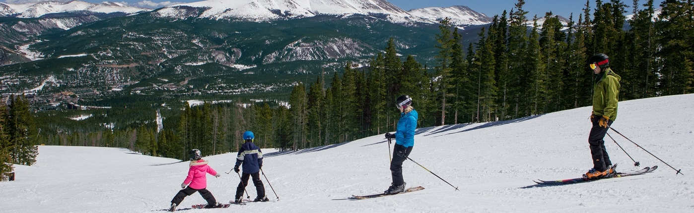 Breckenridge Ski Resort is perfect for families